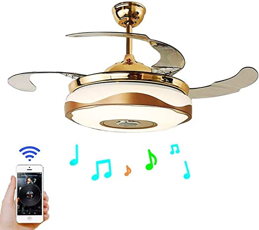 "RuiWing 42"" Bluetooth Music Player Ceiling Fans"