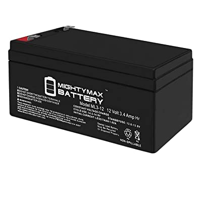Mighty Max Battery ML3-12 - 12V 3AH Replacement Battery for Werker WKA12-3.3F Brand Product: Electronics