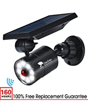 Solar Motion Sensor Light,1400 Lumens Bright Led Spotlight Flood Ecurity Light