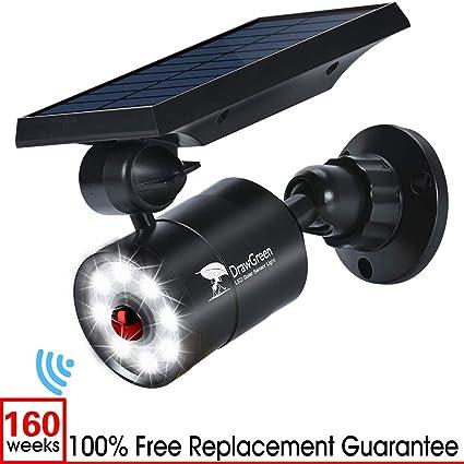 Amazon.com: Luz solar LED con sensor de movimiento de 1400 ...