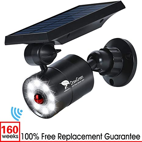 Luz de solar Exterior LED con Sensor de Movimiento,1400LM 5W(110W Equ.