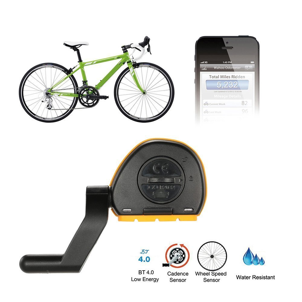 Wosports Bike RPM Speed and Cadence Sensor Wireless Bicycle Computer Speedometer Cycling Odometer APP Control(IOS and Android) by Wosports (Image #2)