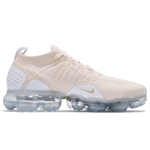 Nike Women's Wmns Air Vapormax Flyknit 2, LIGHT CREAM/METALLIC GOLD STAR:  Amazon.com.au: Fashion