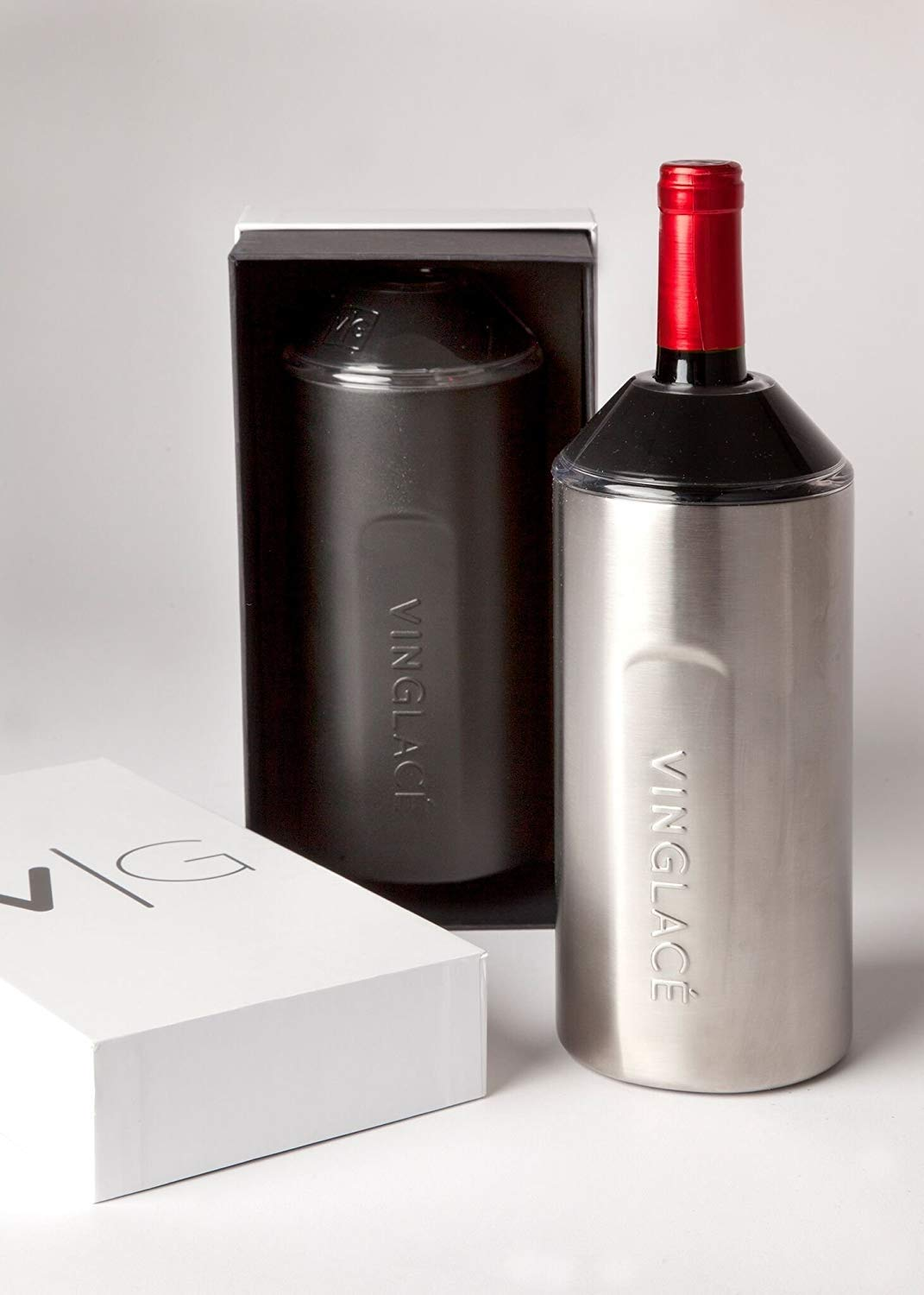 Stainless Steel Vinglac/é Stainless Steel Wine Insulator