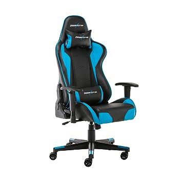 Deerhunter juegos silla, silla de oficina, cuero, respaldo alto ergonómico silla de carreras