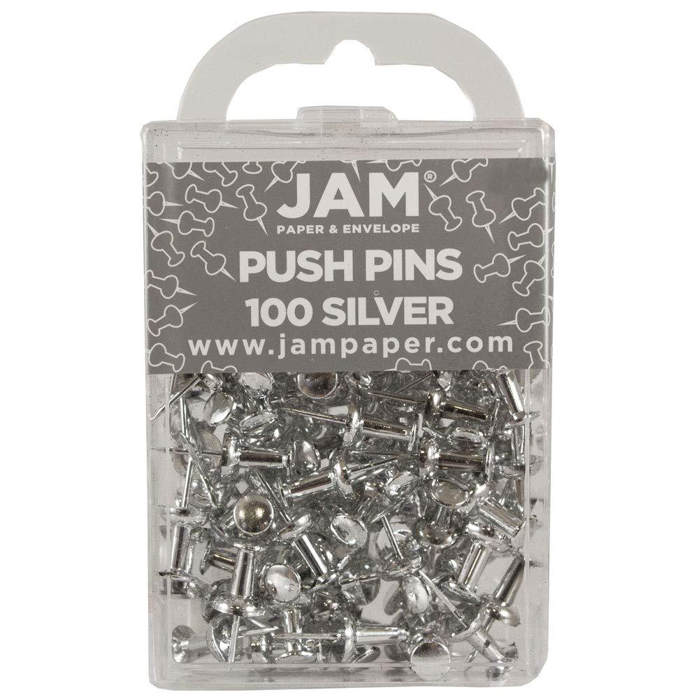 Puntine Argentate JAM PAPER Puntine Colorate 100//Confezione