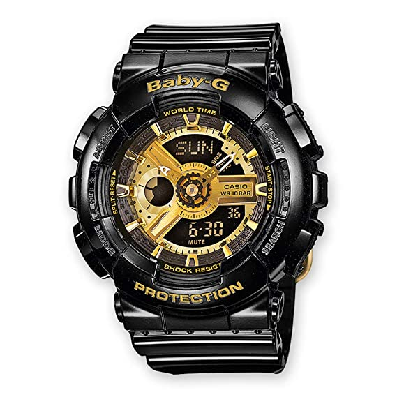 6fc93d063cbec Casio Baby-G Women s Watch BA-110-1AER  Amazon.co.uk  Watches