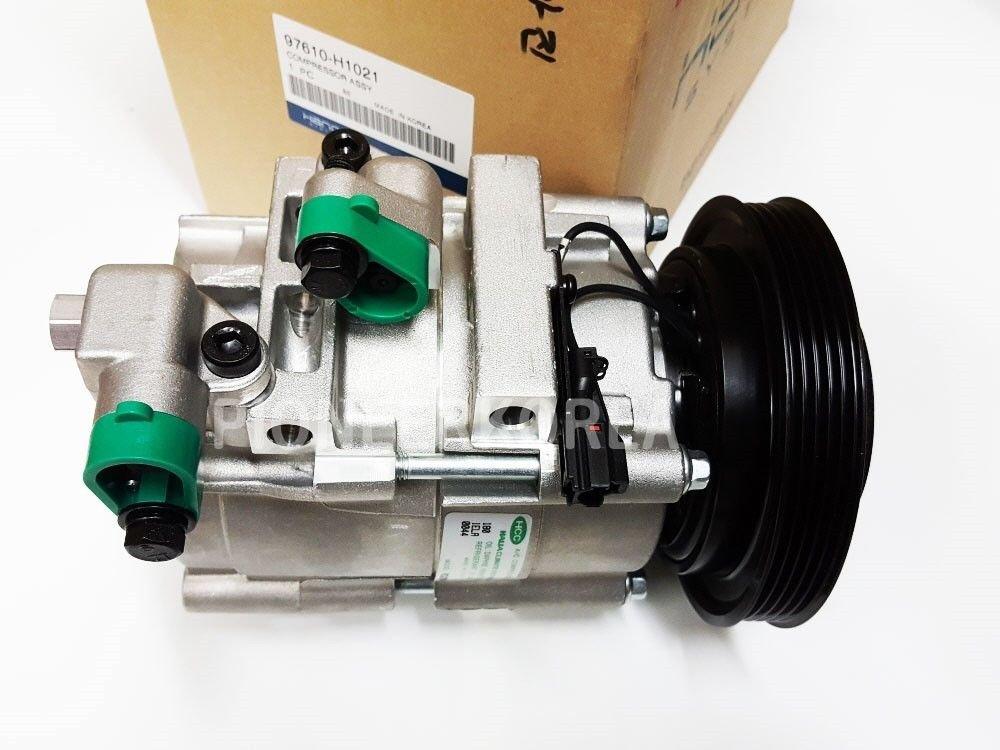 Compresor de aire OEM A/C Assy 977013M000 97701 3M000 para Hyunai Genesis: Amazon.es: Electrónica