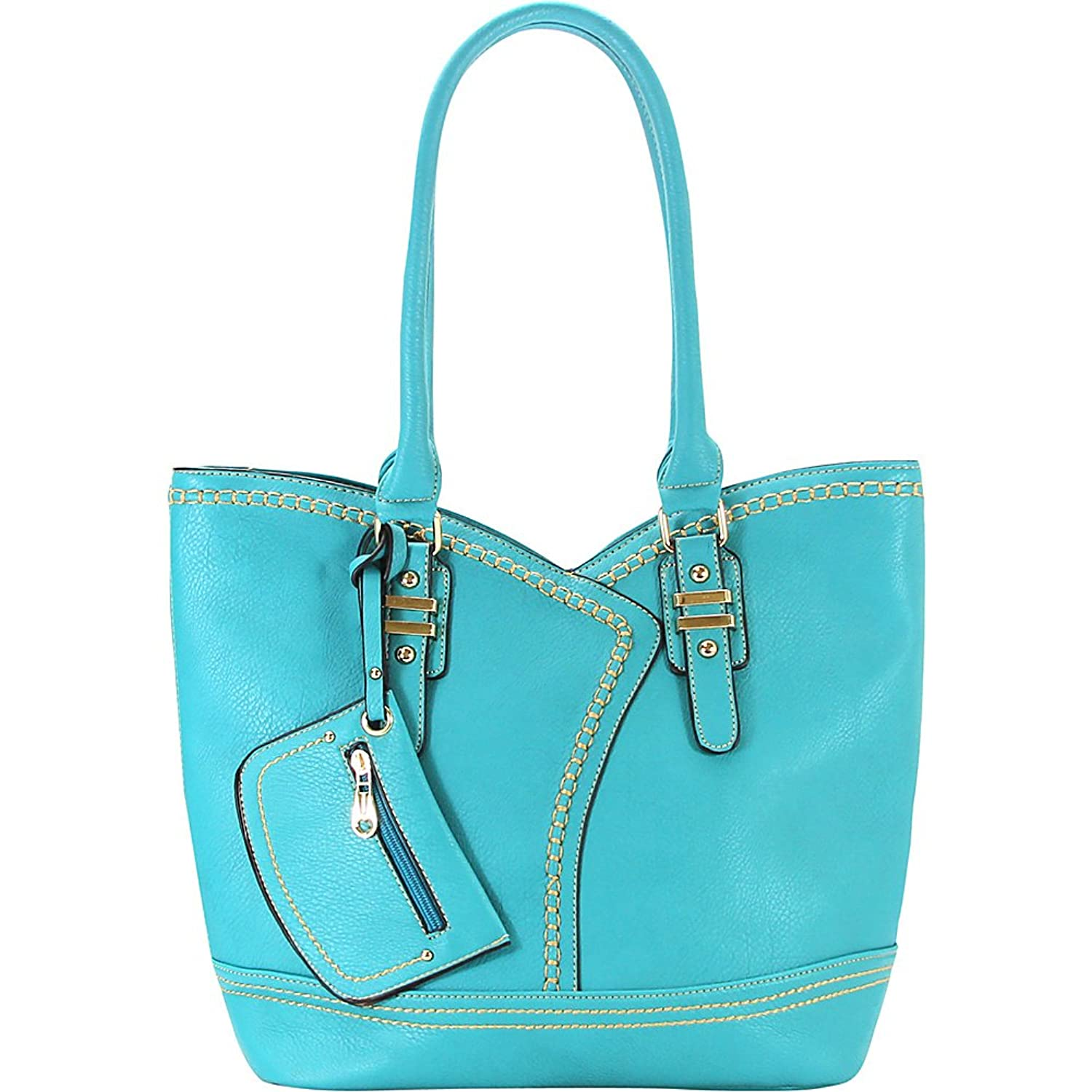 Royal Lizzy Couture Olympus Shoulder Tote (Blue)