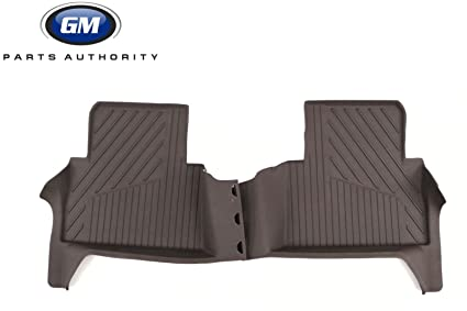GM Accessories 23381379 Rear Floor Liners in Cocoa