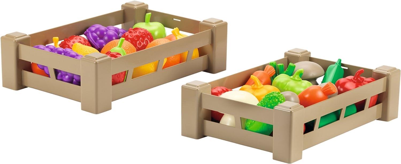 Smoby (SMOBH)- Caja de Frutas y Verduras, Modelos/Colores aleatorios (948)
