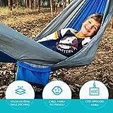 Sunyear Hammock Camping Lightweight Portable Nylon
