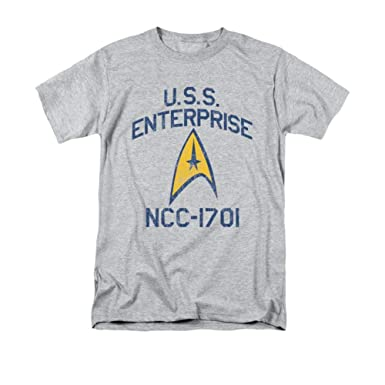 Star Trek Collegiate Arch Playera para Hombre - Gris - XX-Large ...