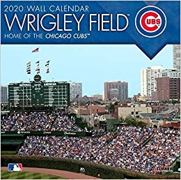 Cubs Home Opening Day 2020.Wrigley Field 2020 Calendar Home Of The Chicago Cubs Lang