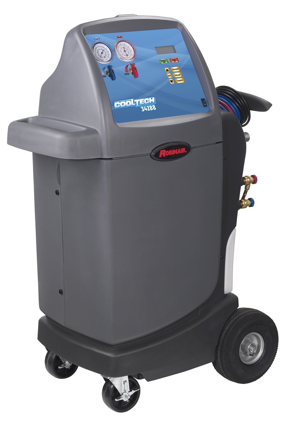 Amazon.com: Robinair (34288) CoolTech R-134A Recovery, Recycling, and  Recharging Machine: Automotive