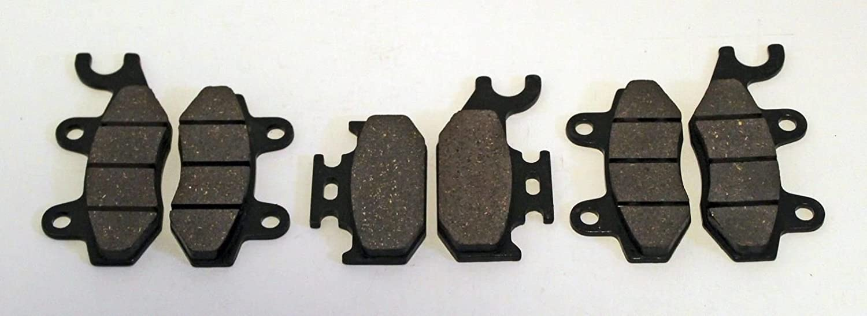 Front Rear Carbon Brake Pads 2004 2005 2006 2007 YAMAHA YXR 660 Rhino 660