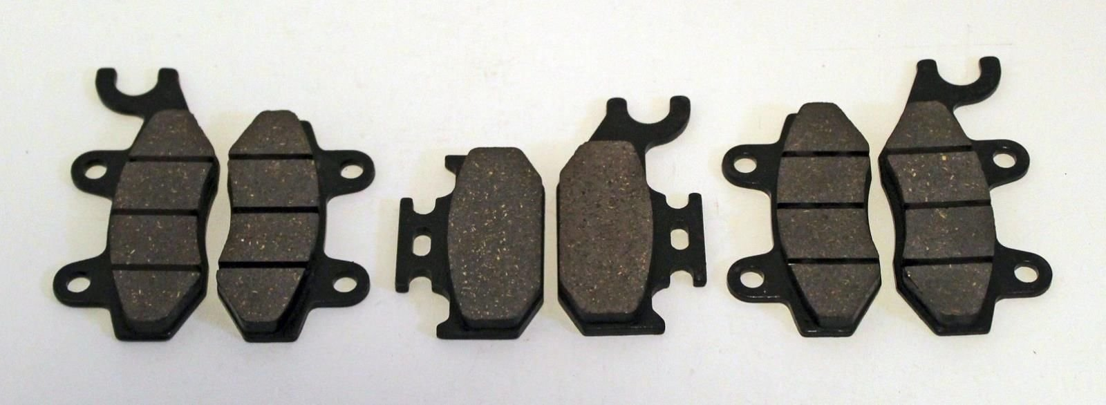 2004 2005 2006 2007 Yamaha YXR660 660 Rhino Front And Rear Brake Pads by CycleATV
