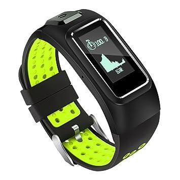 Fitness Tracker, GPS Locator Pulsera Inteligente Pulsómetros Con ...