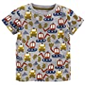 Frogwill Boys Dinosaur Short Sleeve T-Shirt Top Tee Size 2-10