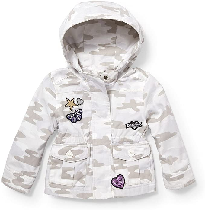 The Childrens Place Baby Girls Zip Up Hoodie