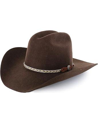 Cody James Men s Ramrod Pro Rodeo 3X Wool Felt Cowboy Hat Chocolate 7 ... fad52c7743f