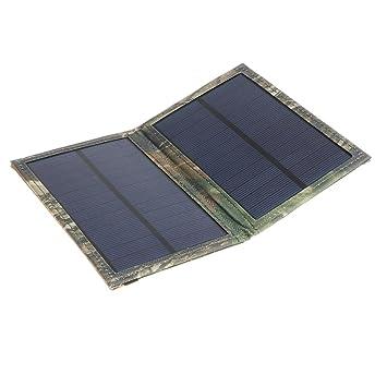 Homyl 1 Unidad Panel Solar Cargador Accesorios para Móvil ...