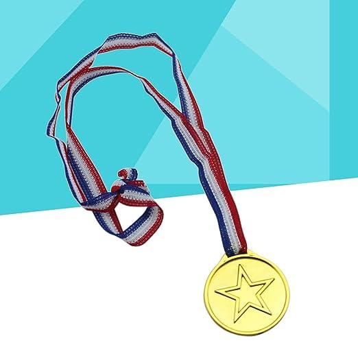 Toyvian Medaglie doro Vincitori medaglie Premio per competizioni Sportive Partite Bomboniere