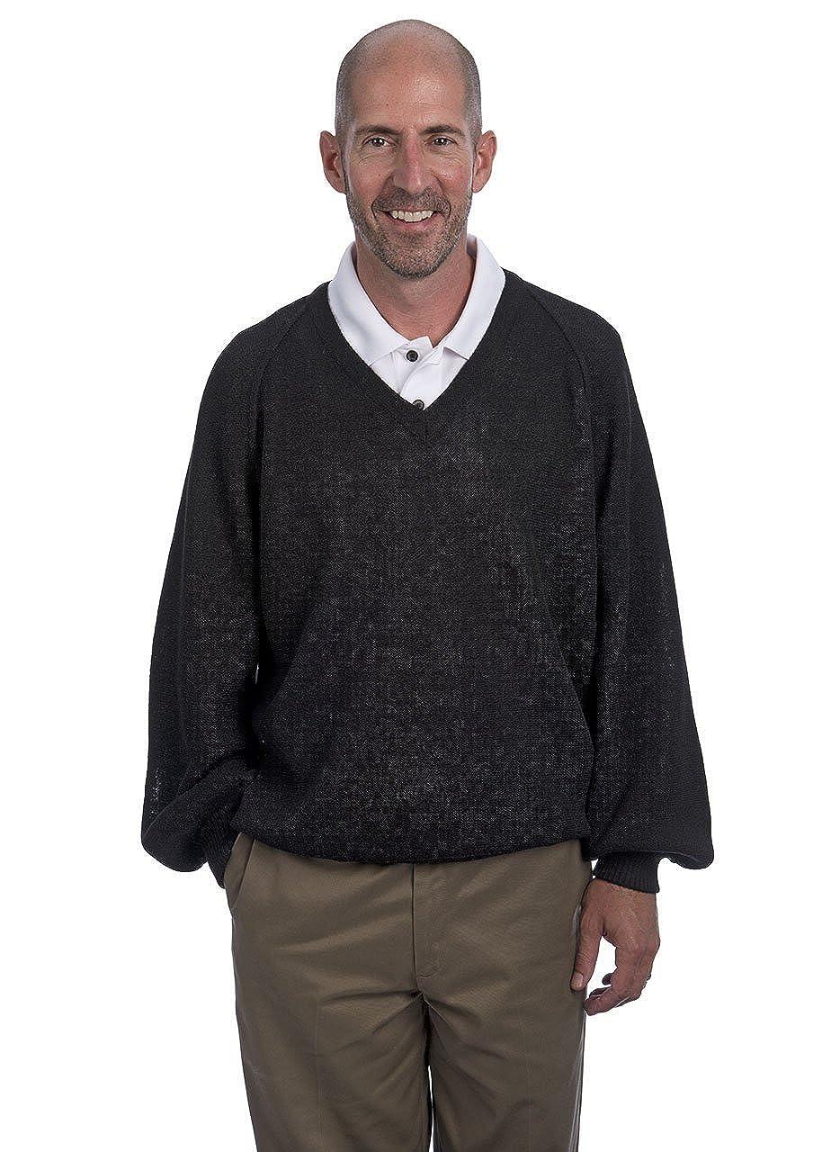 Alpaca Golf SWEATER メンズ ブラック L