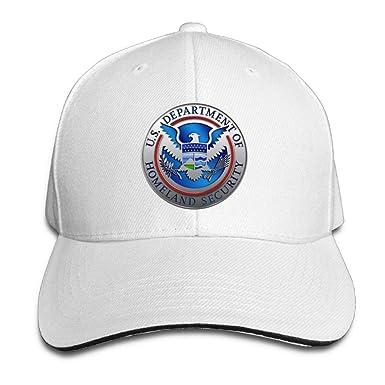 SOTTK Hombre Mujer Gorras de béisbol, Department of Homeland ...
