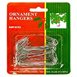 Christmas Ornament Hooks - 2.5 in. Hooks - 50 Pack
