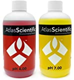 Hydroponics Calibration Solution Test Kit pH 4.0 & 7.0 - For Precise pH Indicator Perfect For Food Processing, Aquariums, Pools - Calibrate pH Meters - Use With pH Probe - Pack of 2 (4oz Bottles)