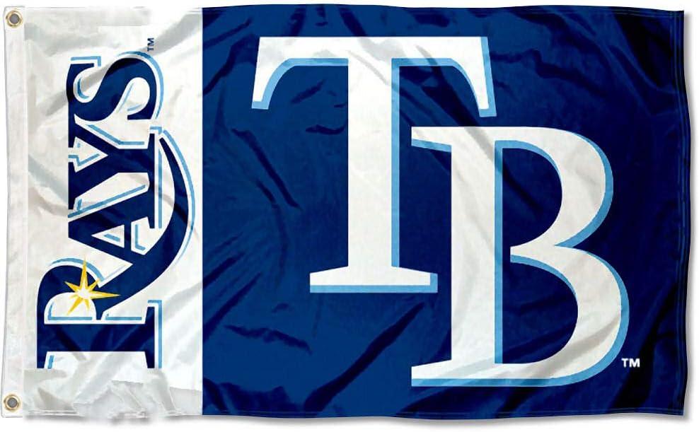 WinCraft Tampa Bay Rays Flag 3x5 MLB Banner