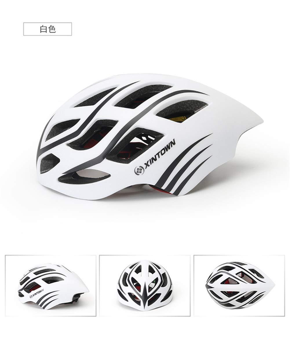 SLGJYY Fahrradhelm Mountainbike Helm Integrierter Helm Außenreithelm Geeignet für Männer und Frauen 57-62cm (Erwachsene)