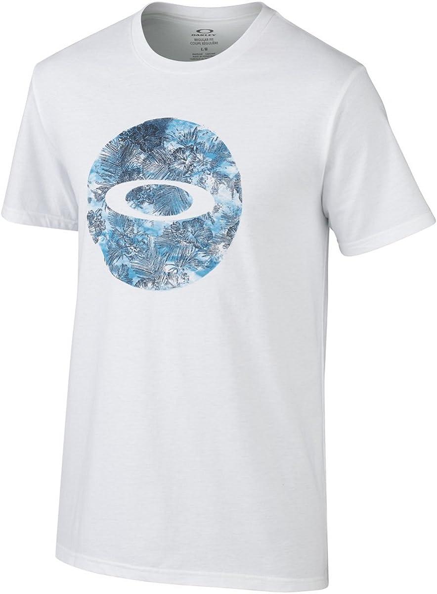 Oakley Talk Story - Camiseta para hombre - Blanco - Small: Amazon.es: Ropa y accesorios