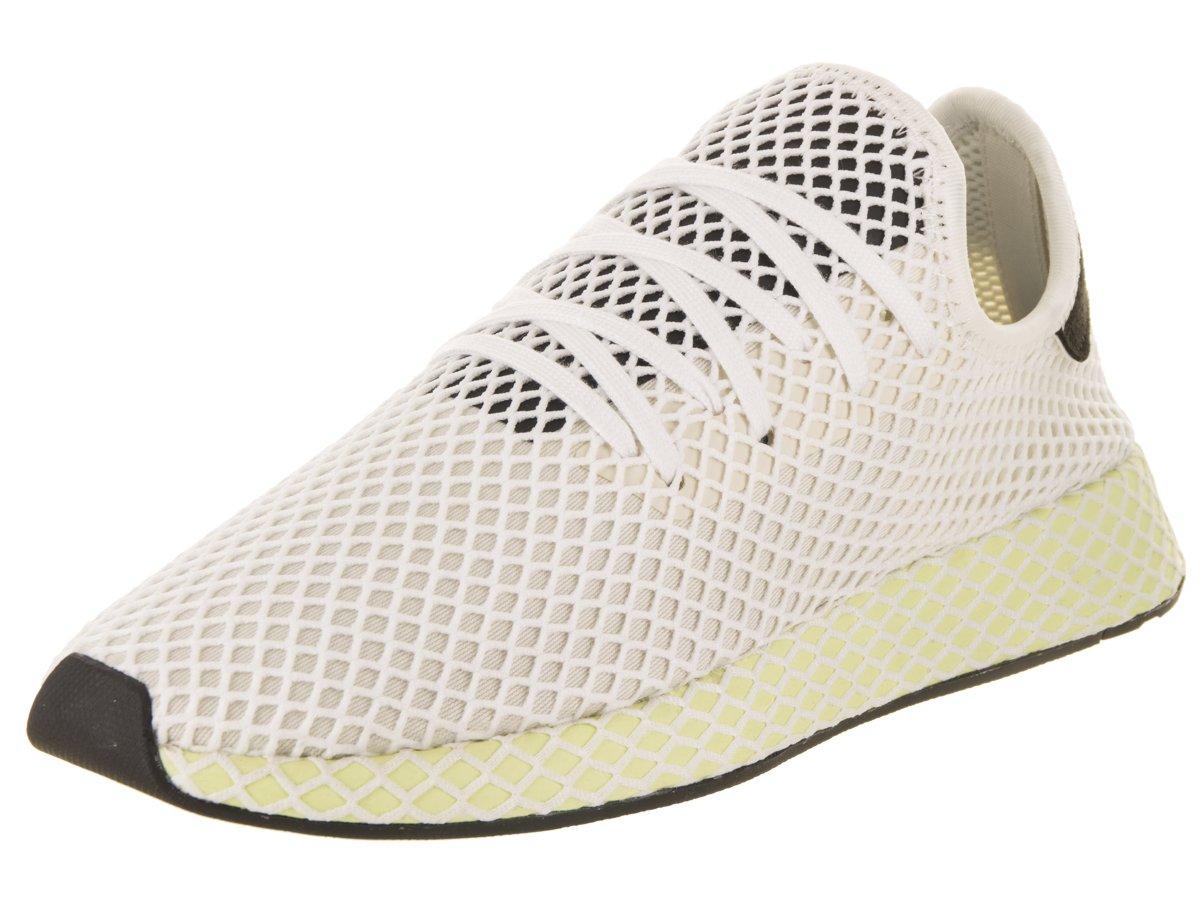 adidas Men's Deerupt Runner Originals Running Shoe B07BKB1C89 11.5 D(M) US|White / Chalk White / Core Black