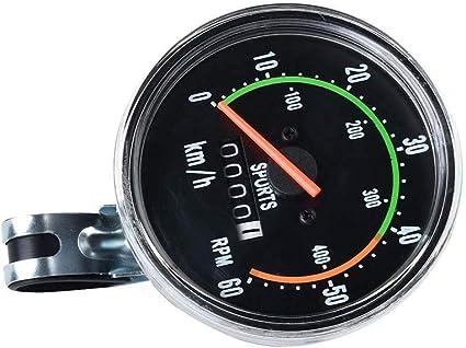 Bicycle Speedometer Analog Odometer Universal Bike Computer Mechanical Cycling