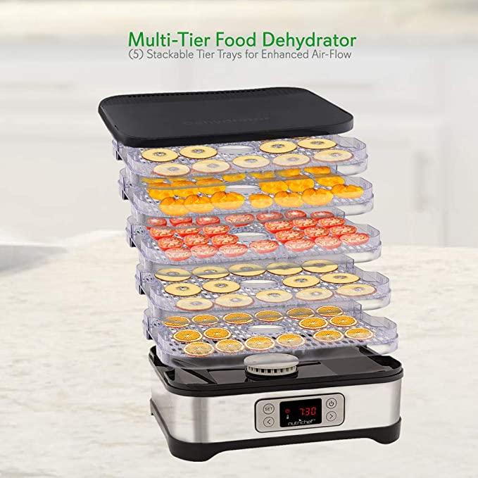Amazon Digital Food Dehydrator Preservation Machine 250 Watt