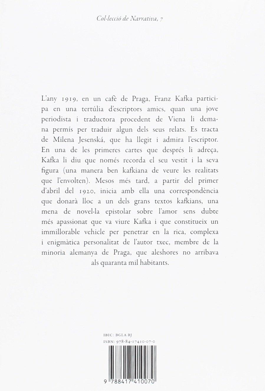 Cartes a Milena (Narrativa): Amazon.es: Franz Kafka, Clara ...