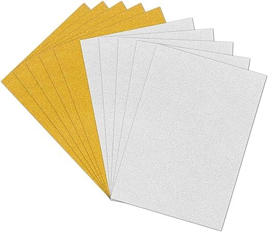 Healifty 10 piezas a4 papel de cartulina brillo papel de brillo ...