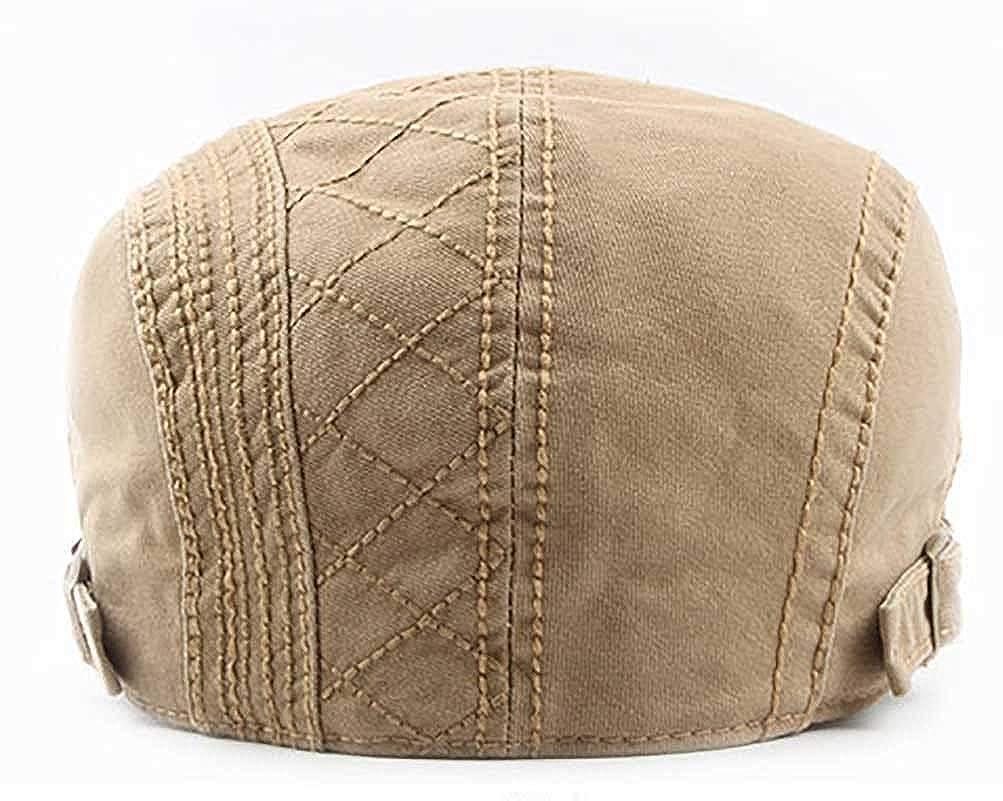 RICHTOER Sombreros Gorras Boinas Gorra de B/éisbol Ocio Retro Cl/ásico del Algod/ón Gorra de Deport Hat Flat Cap Primavera Verano para Hombre