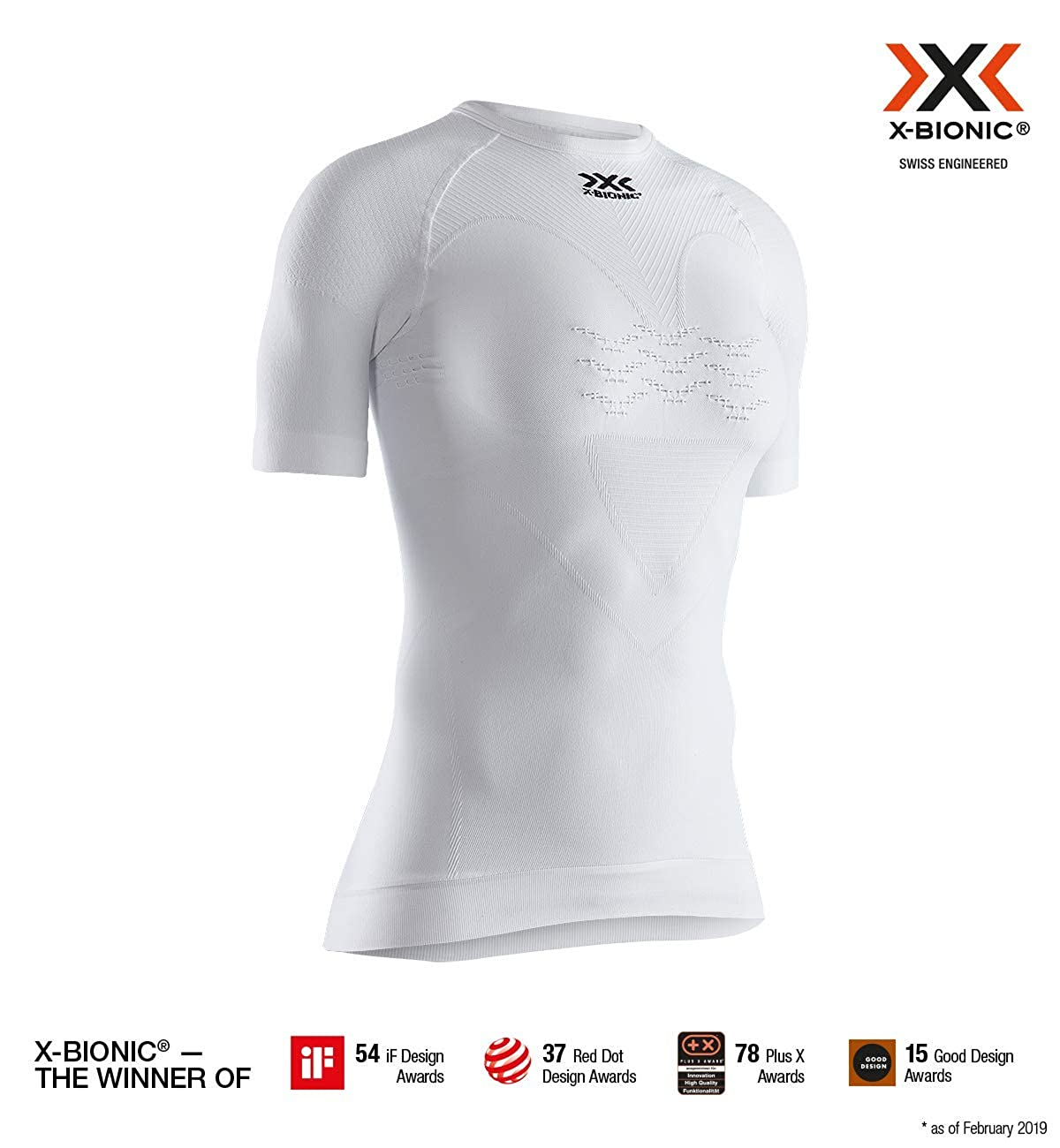 X-Bionic Energizer 4.0 Light Shirt Round Neck Short Sleeve Women