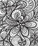 ColorIt - Colorful Flowers: Adult Coloring Book with Relaxing Zentangle Flowers and Patterns