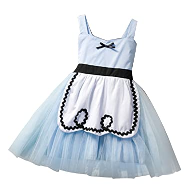 1cad6277ed66 Fancy Dress Alice in Wonderland Costume Kids Cinderella Toddler Bady Girl  Princess Tutu Dress Cosplay Tea Party Costume Child Book Week Day  Fairytale: ...