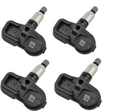 CDWTPS Tire Pressure Sensor,42607-06020 TPMS Sensor,PMV-C010 315Mhz Tire Pressure Monitoring System Sensor Replacement for Toyota Lexus Scion 4-Pack
