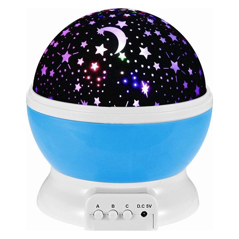 Kobwa led baby night lights projector stars lighting lamp for kobwa led baby night lights projector stars lighting lamp for children kids romantic projector rotation night projection lamp rotating 3 modes amazon mozeypictures Image collections