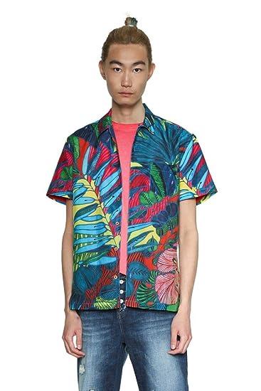 Desigual CAM_Andrew - Camisa para Hombre, Talla M: Amazon.es: Ropa ...