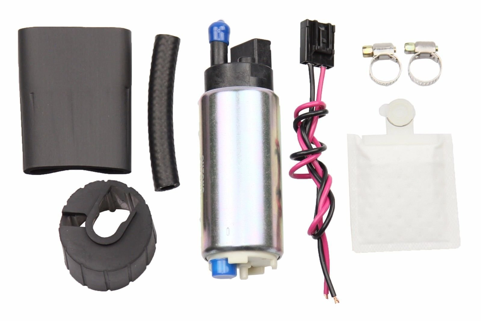 OSIAS 255LPH High Performance EFI Fuel Pump & Kit Replaces GSS342