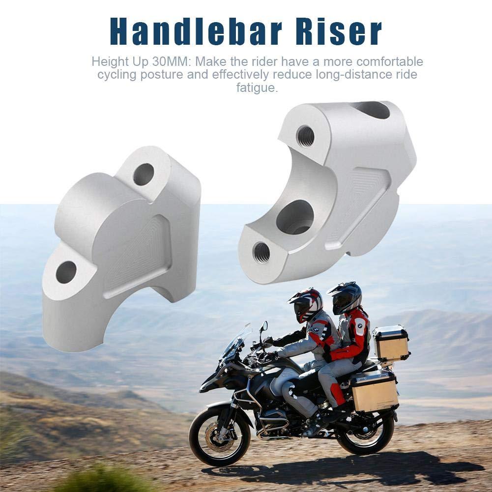 Silber Oddity Griffhalter Motorrad Lenker Risers Kit Universal Raiser Aufstieg Lenker F/ür BMW R1200GS LC R1250GS 1G13 K50