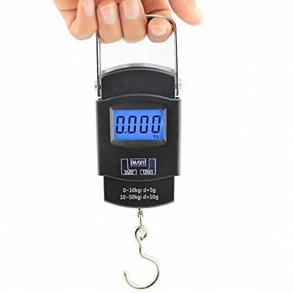 e6865a86f79f Generic Digital Heavy Duty Portable Hook Type with Temp Weighing Scale, 50  Kg,Multicolor