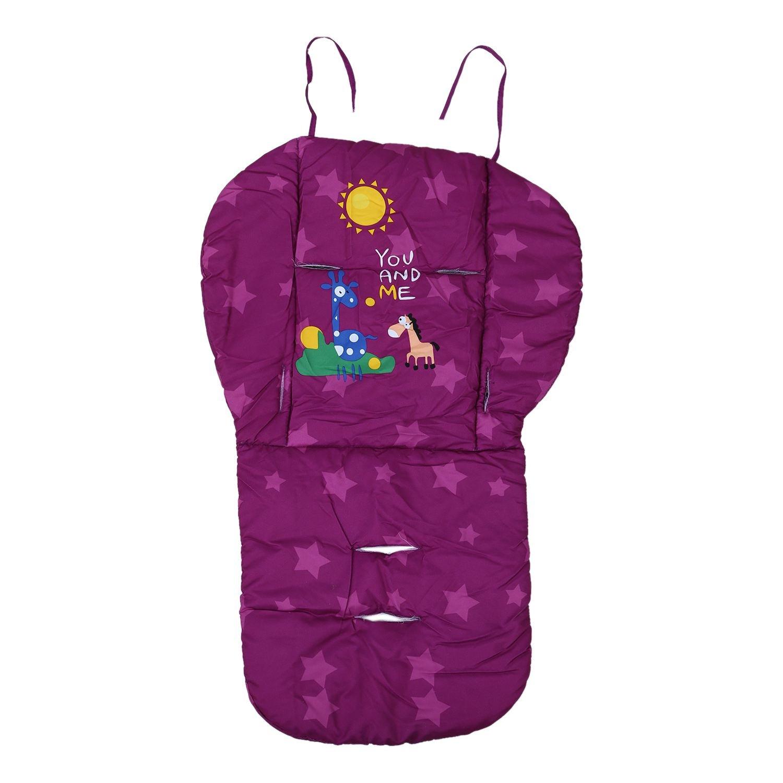 Thick Baby Infant Chair Cushion Cotton Mat Breathable Stroller Padding Liner Car Seat Pushchair Pram Stroller Accessories SODIAL R purple 78/¡/Á48/¡/Á3cm